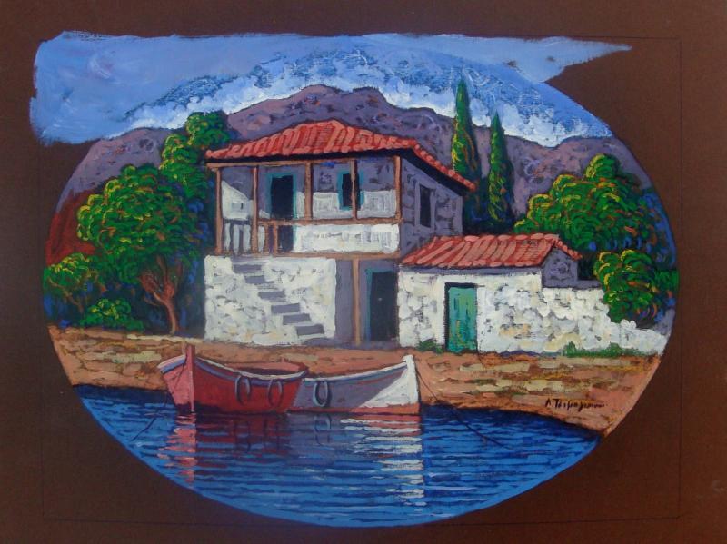 Original painting       Marine landscape