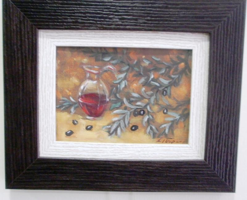 Original painting                          olive