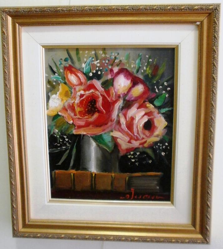 ΠΙΝΑΚΑΣ ΖΩΓΡΑΦΙΚΗΣ       λουλούδια   Ιάσων