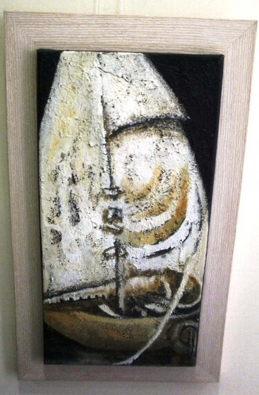 Original painting                       boat