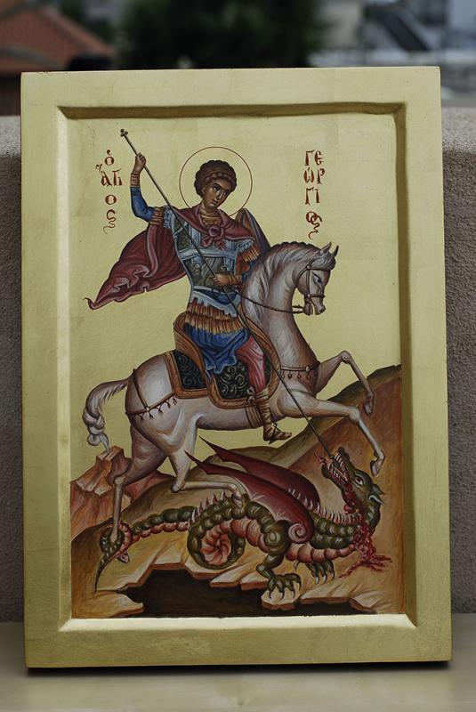 ΒΥΖΑΝΤΙΝΕΣ ΕΙΚΟΝΕΣ              Ο   Άγιος Γεώργιος