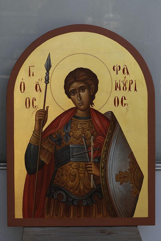 ΒΥΖΑΝΤΙΝΕΣ ΕΙΚΟΝΕΣ     Ο   Άγιος Φανούριος