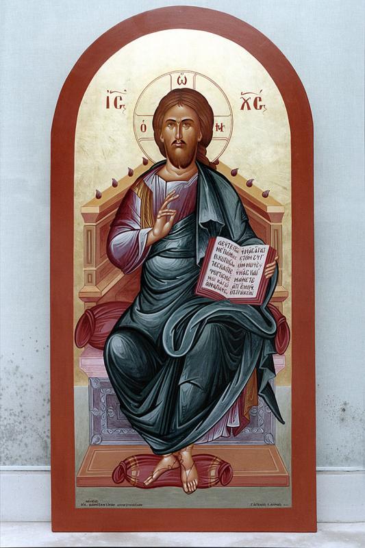 ΒΥΖΑΝΤΙΝΕΣ ΕΙΚΟΝΕΣ       Ο Ιησούς ενθρόνος