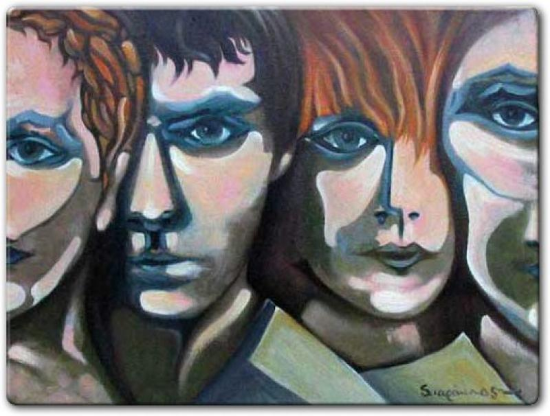 Original painting      PERSONS