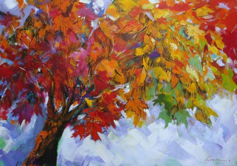 Original painting     the tree
