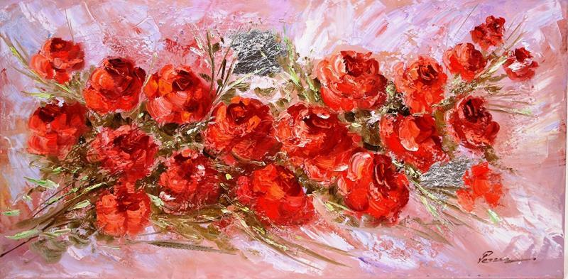 ΠΙΝΑΚΑΣ ΖΩΓΡΑΦΙΚΗΣ    Τριαντάφυλλα       Ρετζάς Ρέντης