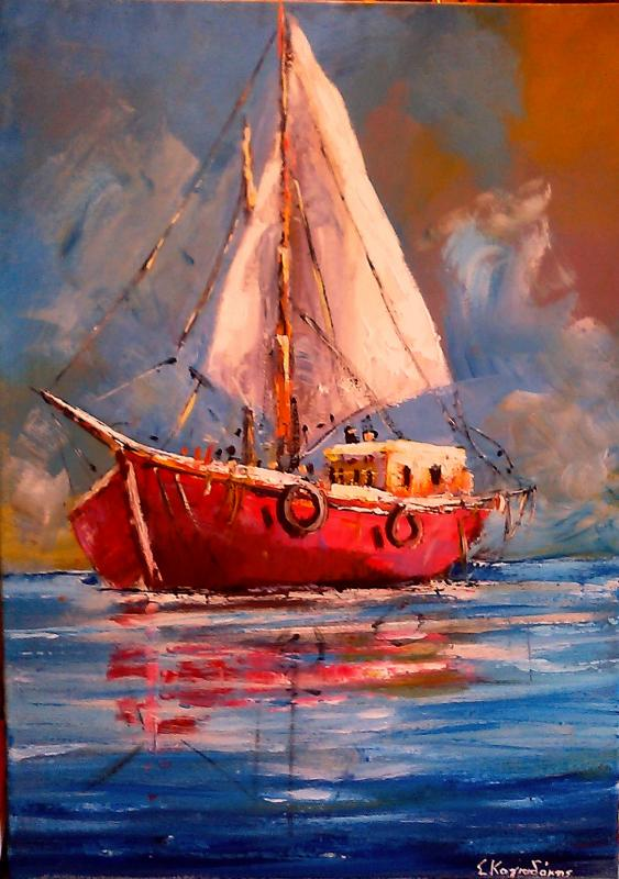 Original painting    SEA