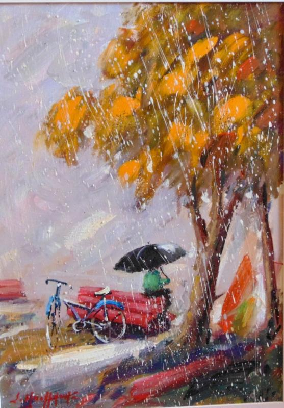 Original painting     autumn