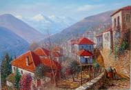 Original painting    Metsovo