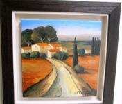 Original painting                     The street