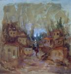 Original painting        the village