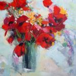 Original painting          flowers