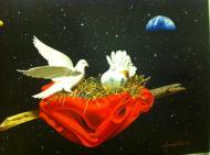Original painting                      Inspirations